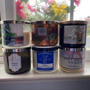 Bath & Body Works Candle Bundle!